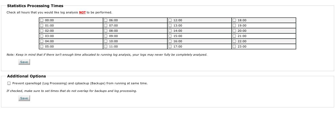 Cpanellogd updating bandwidth for